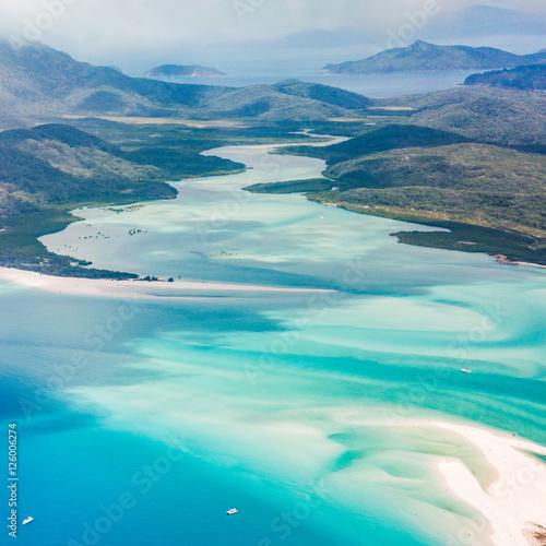Poster Turquoise Whitehaven Beach, Whitsundays
