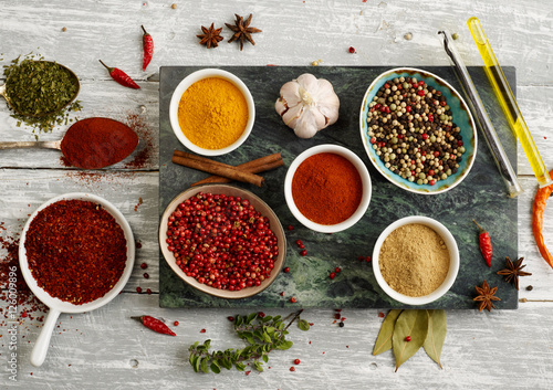 Canvas Prints Spices Exotic spices