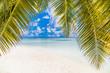 Amazing tropical summer beach landscape