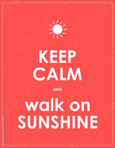 special summer modern motivational background Plakát