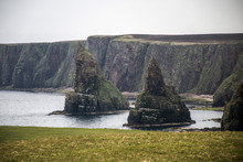 John O Groats North Tip Scotland Art Coastline Rock Formation 2