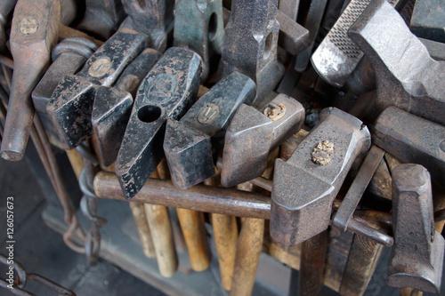 Valokuva Tools of the blacksmith