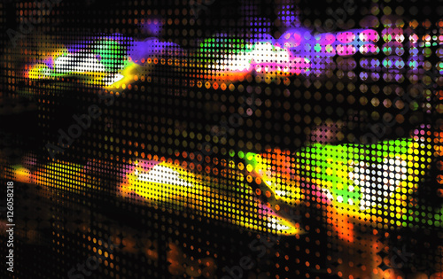 Fotobehang - abstract color dot background