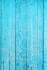 Old blue wood plank for use as background.