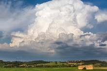 Storm Brewing In Tuscany