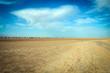 Sahara desert landscapes in Tunisia