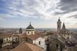 Bergamo città alta view from above