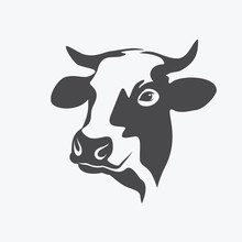 Holstein Cow Portrait Stylized...