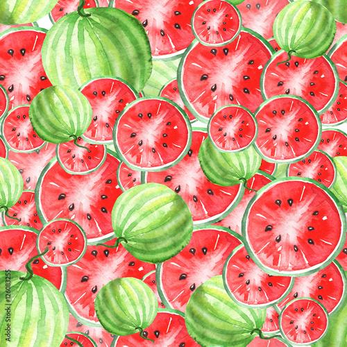 akwarela-bezszwowe-tlo-wzor-z-wzorem-arbuza-plasterki-owoce-arbuza-kolory-czerwony-i-zielony