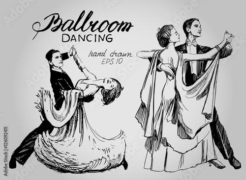 Fotomural Ballroom dance