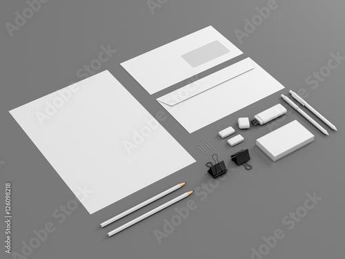 Fotografía  Corporate identity template set