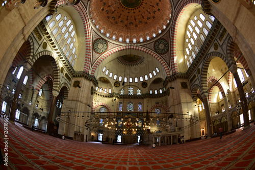 Photo  Yavuz Sultan Selim Mosque with historical architecture