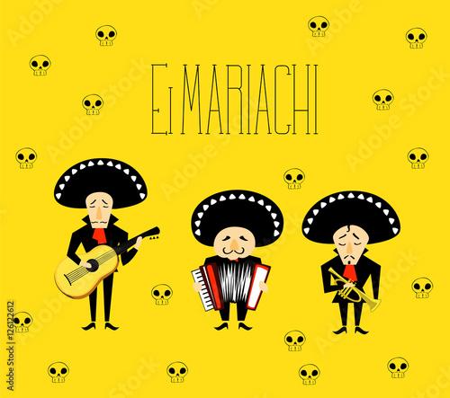 El Mariachi Canvas Print