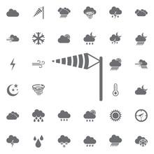 Wind Cone Icon