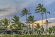 Resort at Beach Sunset Scene Portho Gallinhas Brazil