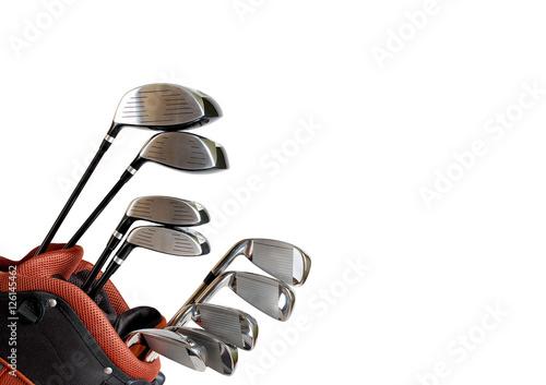 kije-do-golfa-na-bialym-tle