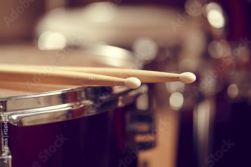 Drums conceptual image Fototapete