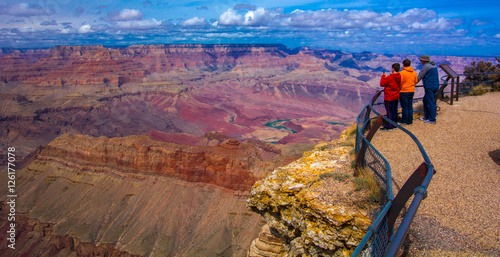 Fotografie, Tablou Grand Canyon Vista