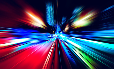 Abstract motion blur for background