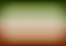Green Brown Gradient Background Vector Illustration