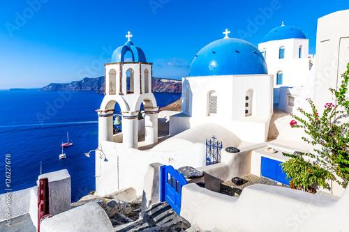 Fototapeta Oia village, Santorini island, Greece obraz