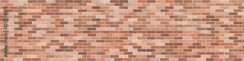 Background texture of brown brick wall