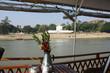 Navigation sur le fleuve Irrawaddy à Sagaing, Birmanie