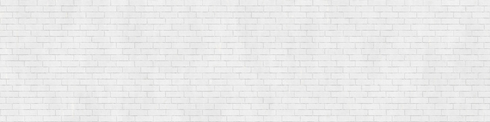 Fototapeta Background texture of white brick wall