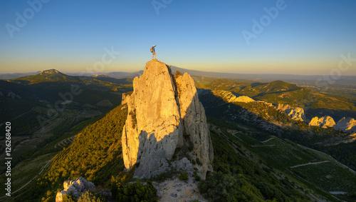 Foto op Plexiglas Alpinisme Seul au monde