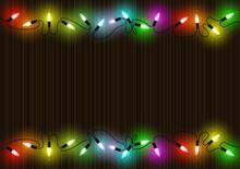 Colorful Glowing Christmas Lig...