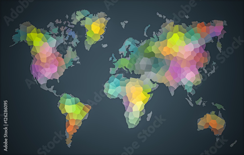 Colorful World Diversity Map