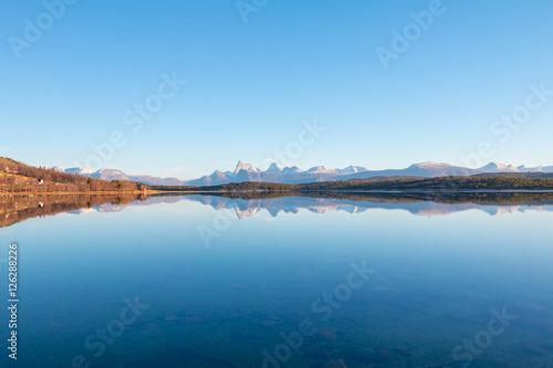 Staande foto Scandinavië Krajobraz, Lofoty, Nordland, Norwegia