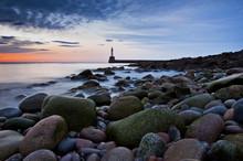 Lighthouse In Aberdeen- Scotla...