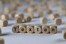 Texten - Holzwürfel Mit Buchs...