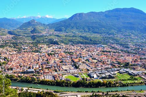 Photo Aerial view of Trento Italy