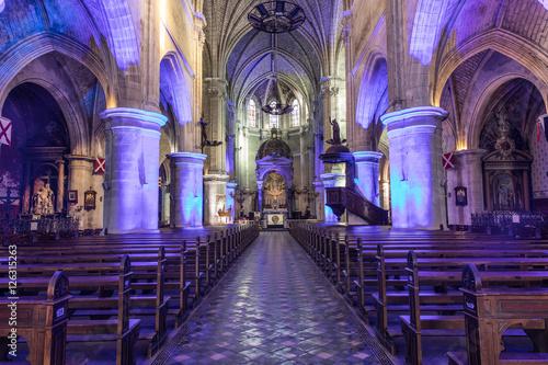 Fotografie, Obraz  Église Notre Dame du bon port - Les Sables d'Olonne