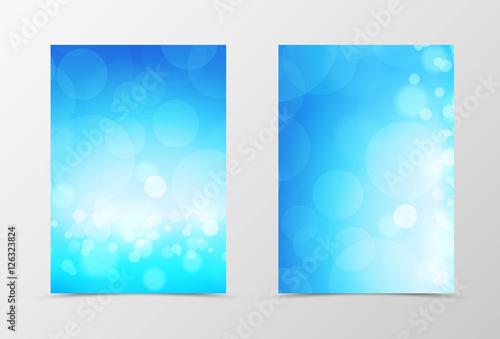Azure Flyer Template | Front And Back Light Flyer Template Design Kaufen Sie Diese