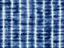 Tie-dye Textile Pattern In Indigo Blue.