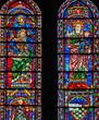 Isaías y la Virgen con el Niño, Catedral de Chartres, Francia