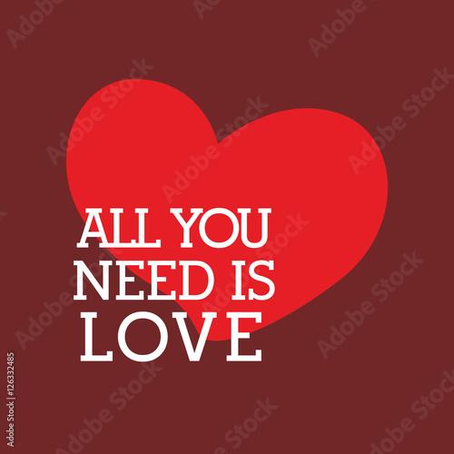 Photo  Heart love icon vector illustration graphic design