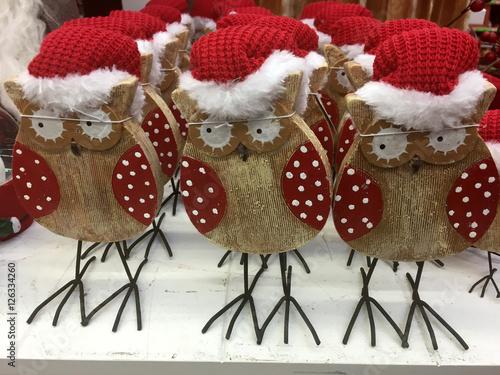 Weihnachtsdeko Shabby Chic.Organisch Lifestyle Weihnachtsdeko Eulen Nikolas Holz Hölzern