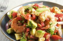 Ceviche Con Camarones - Shrimp...