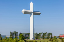 The Cross At The Crossroads In Effingham, Illinois.