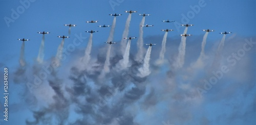 warbird-flying-formation