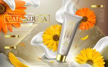 Calendula Essential Oil Ad