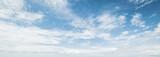 Fototapeta Na sufit - Sky and clouds tropical panorama