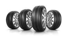 Reifen In 4er-Formation 2