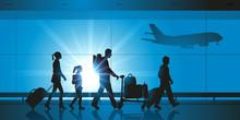 Aéroport - Famille - Voyage