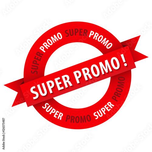 """Fotografía  Tampon publicitaire """"SUPER PROMO !"""""""