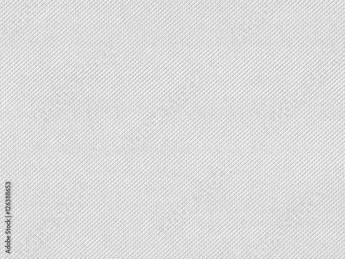 Obraz na plátně  White Paper texture background with embossed pattern